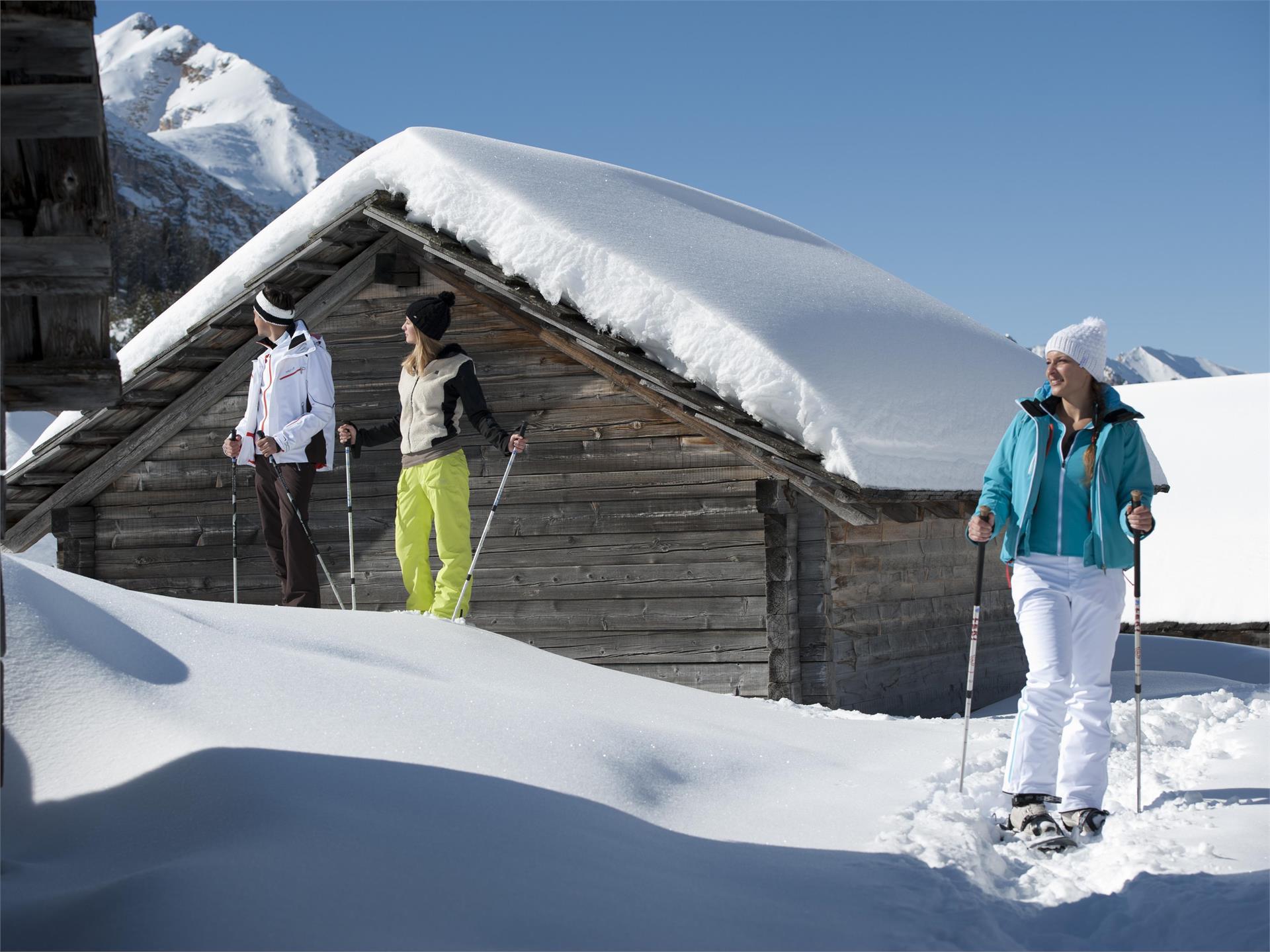 Escursione con le racchette da neve al Bel Colle