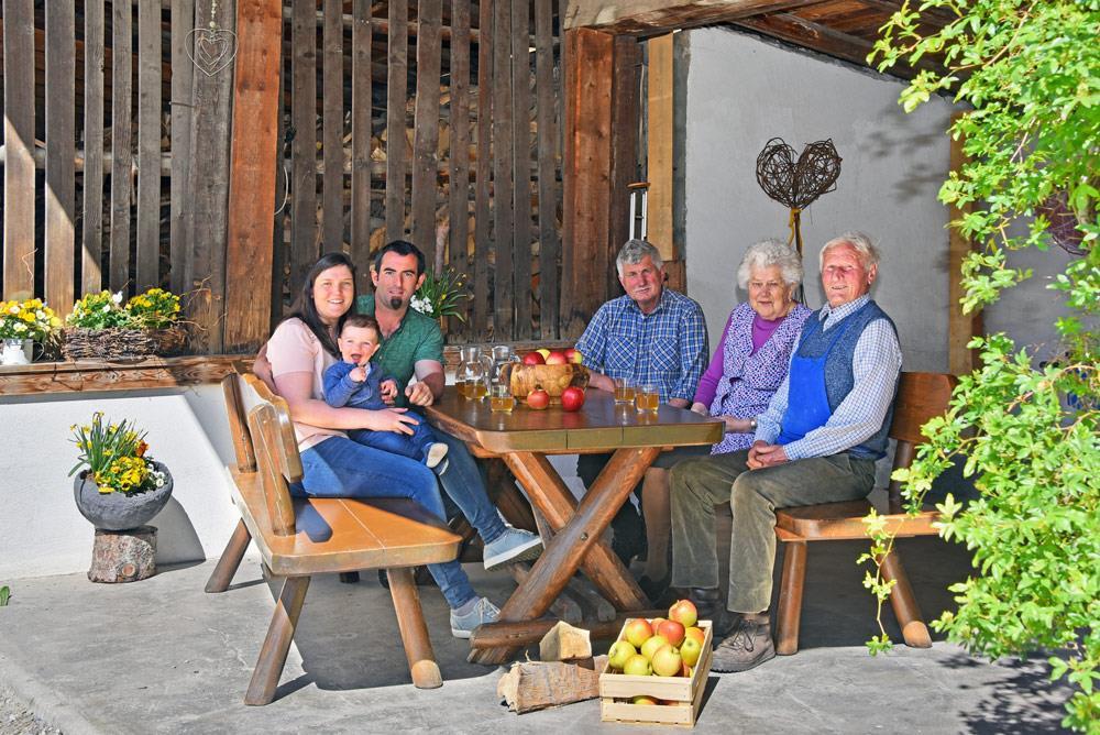 Familie Rinner Schnalserhof