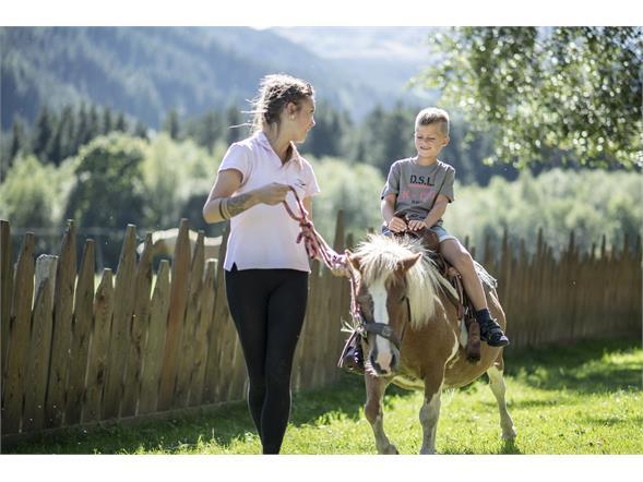 Ponyreiten Alphotel Tyrol Wellness, Chalets & Family Resort