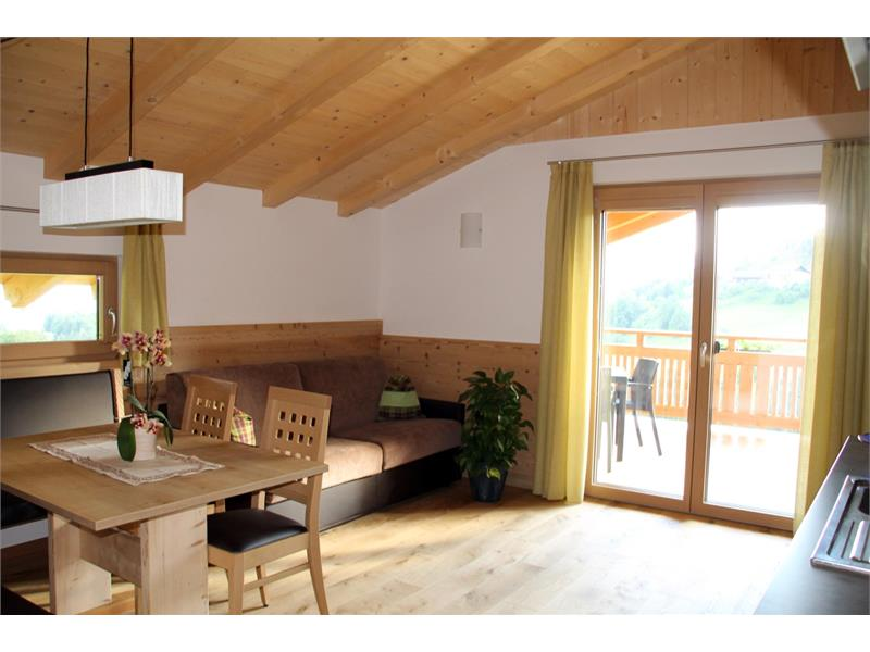 Soggiorno - Maso Thalerhof a Verano, Alto Adige