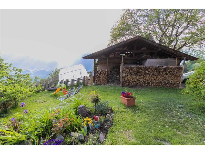 Il nostro giardino- Maso Gruberhof a Verano, Alto Adige