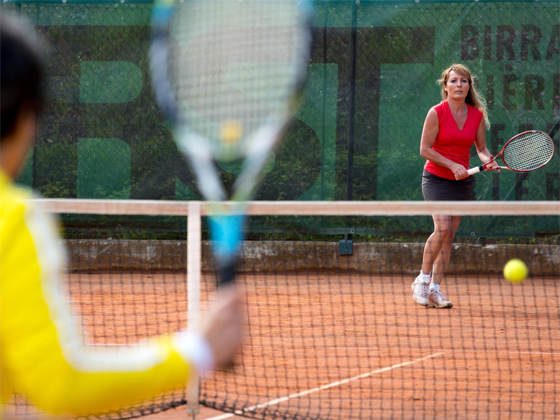 Tennis presso lo Sport & Wellnessresort Quellenhof
