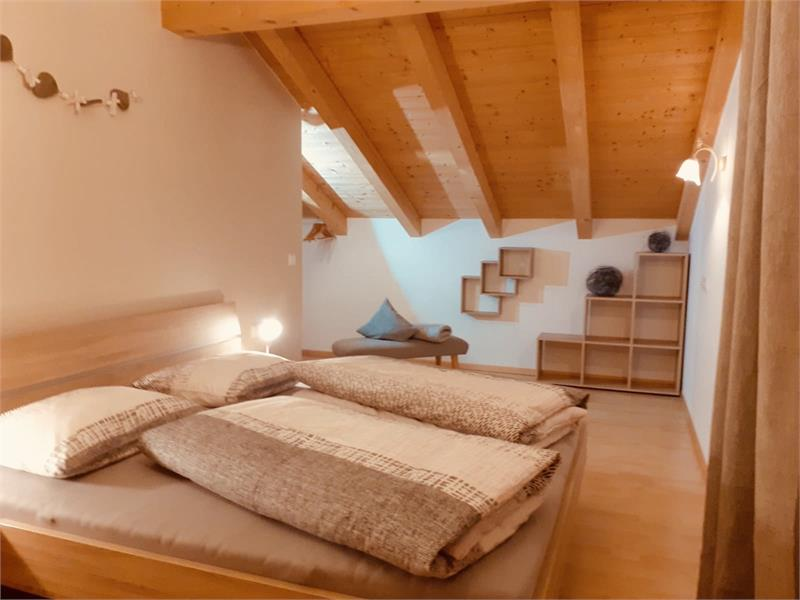 Double room in the apartment - House Mittelberger in Avelengo/Hafling