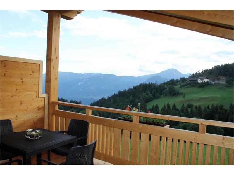 Vista panoramica - Maso Thalerhof a Verano, Alto Adige