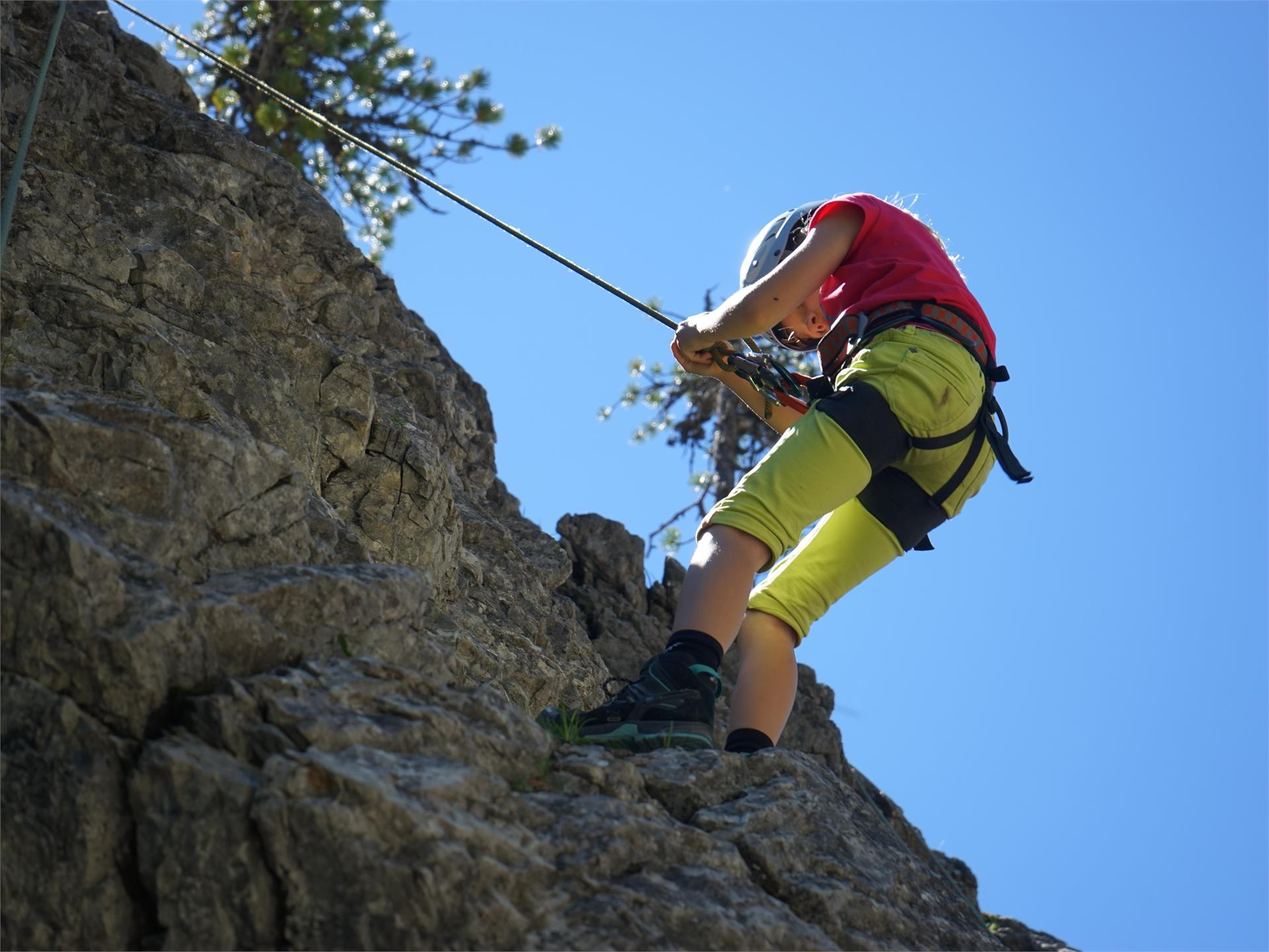 Climbing for childreen