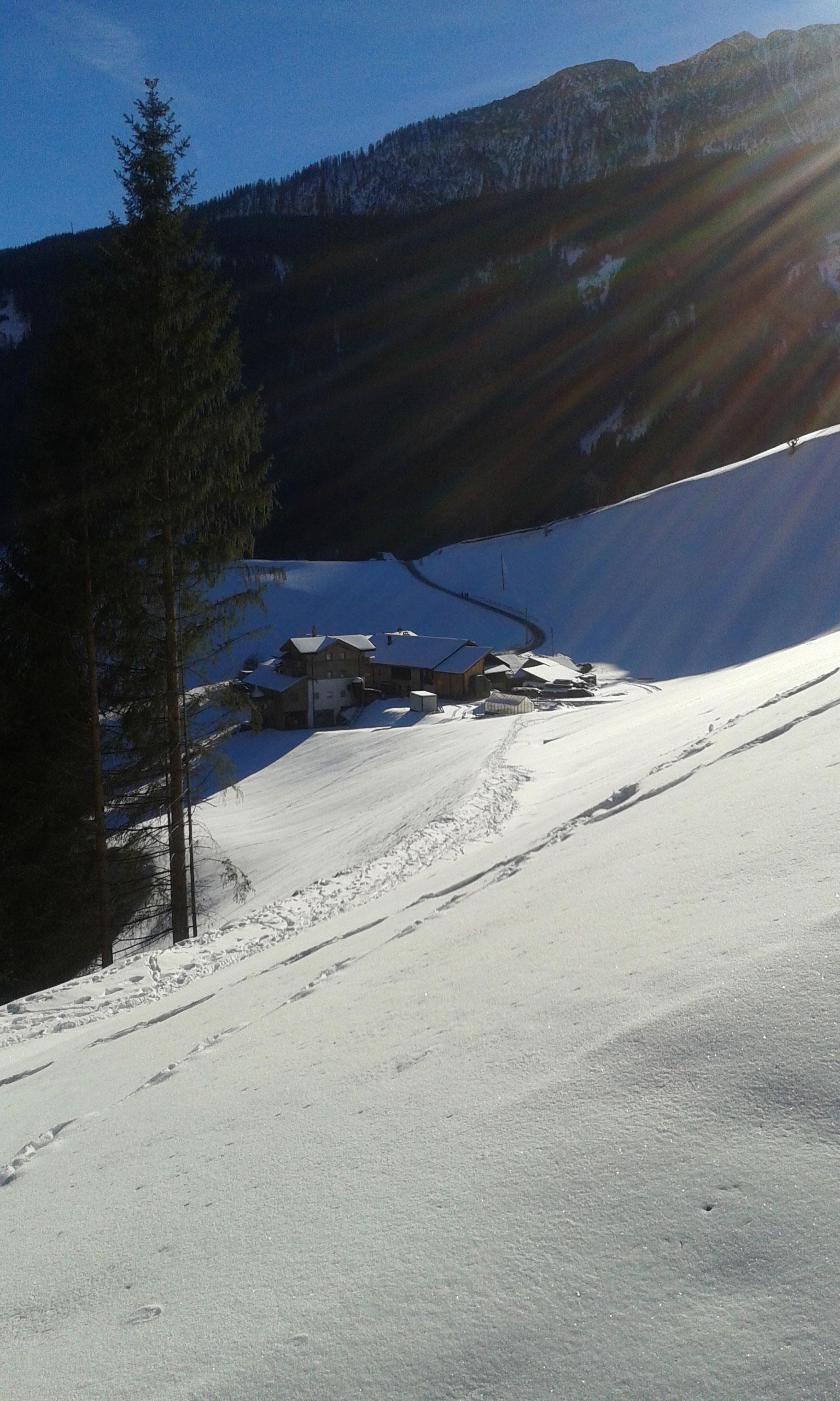 Obergruberhof Winter