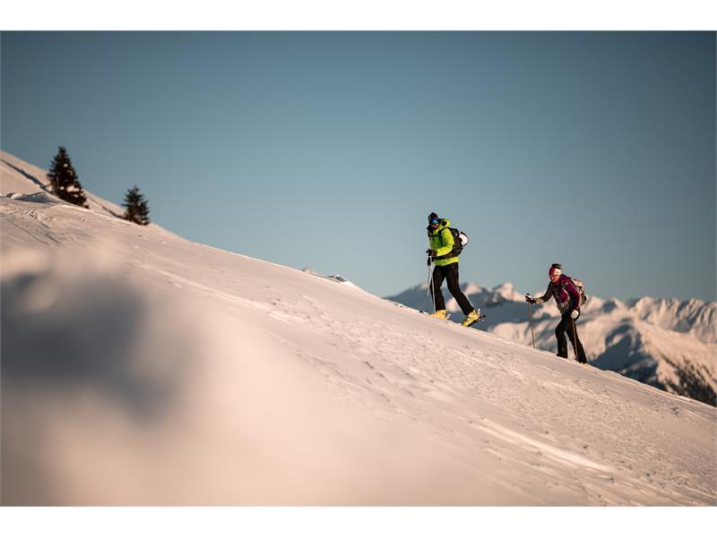 Skitour in Sterzing in Südtirol