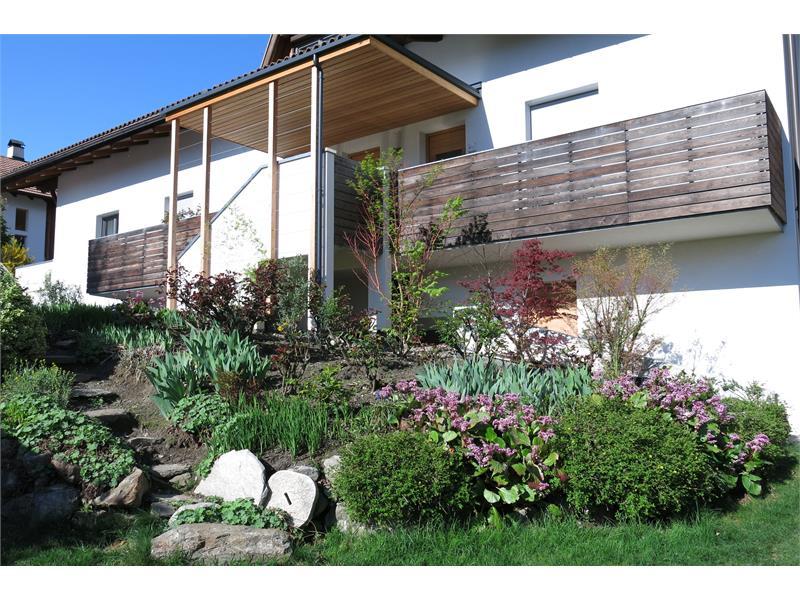 Apartments Schwarzlehen, Naturns bei Meran, Ansicht Ostseite