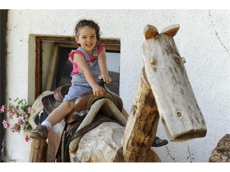 Cavallo di legno - Brunnerhof ad Avelengo