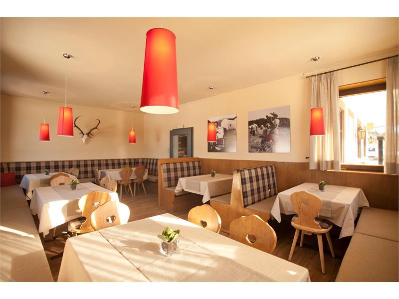 Dining room at the restaurant Alpenrose