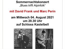 Sommernachtskonzert mit David Frank und Marc Perin