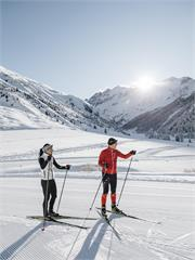 Cross Country skiing at Braies
