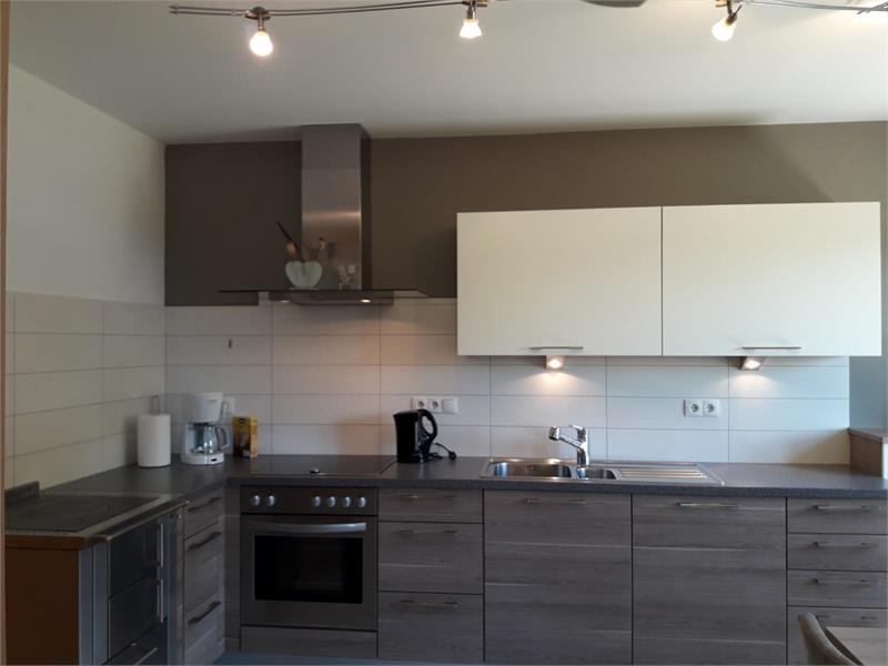 Modern kitchen - House Mittelberger in Avelengo/Hafling