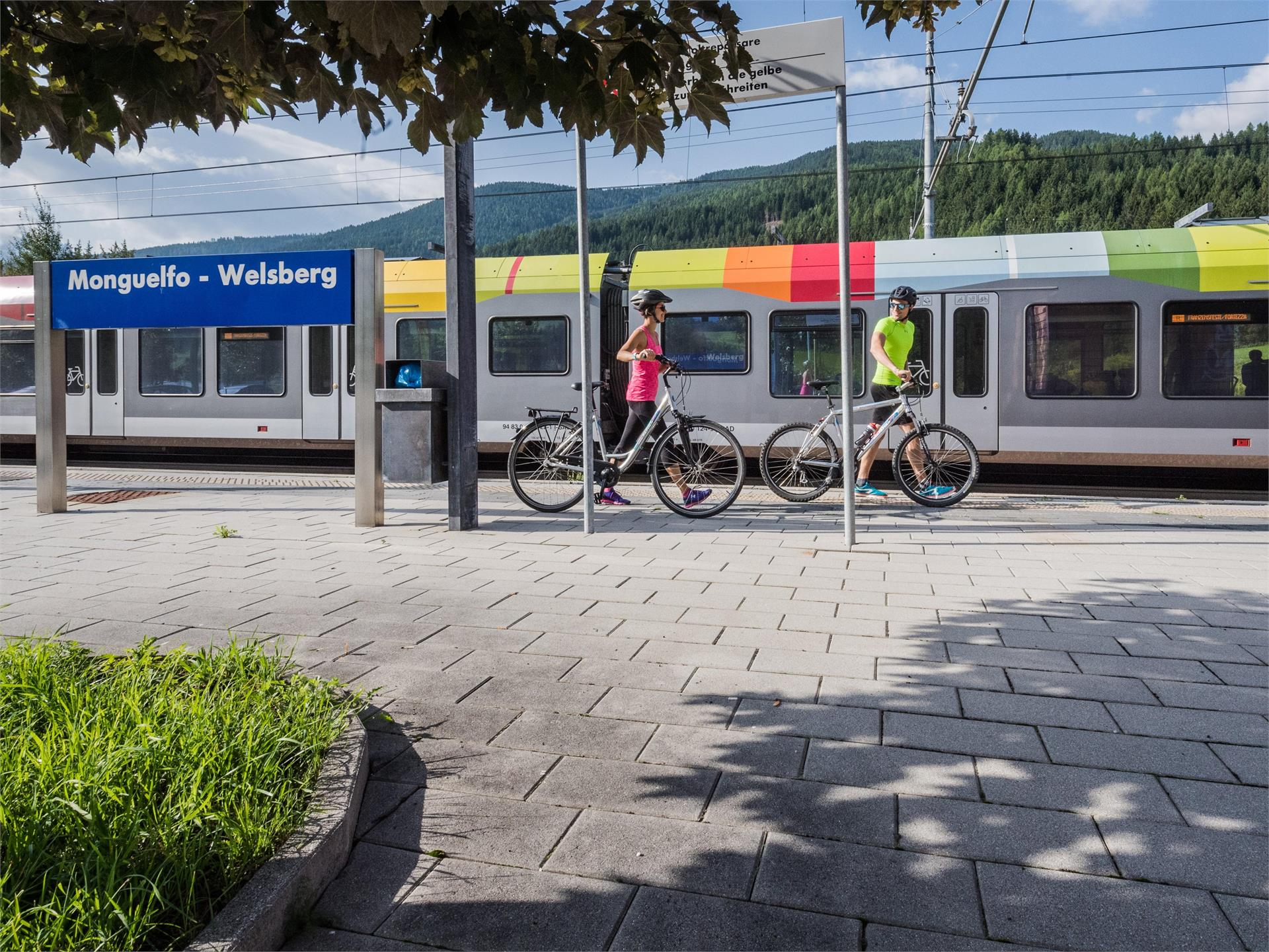 Rent a Bike service point railway station Welsberg