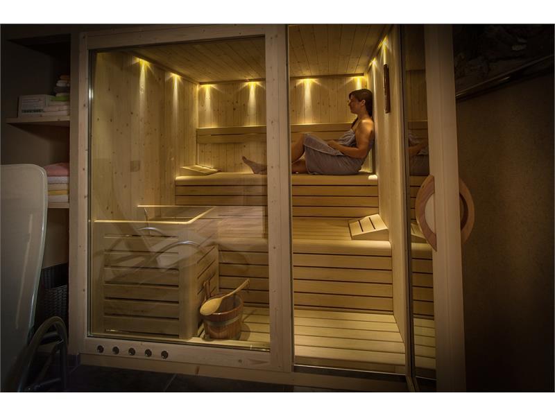 Our new sauna - Hotel Alber, Vöran/Verano
