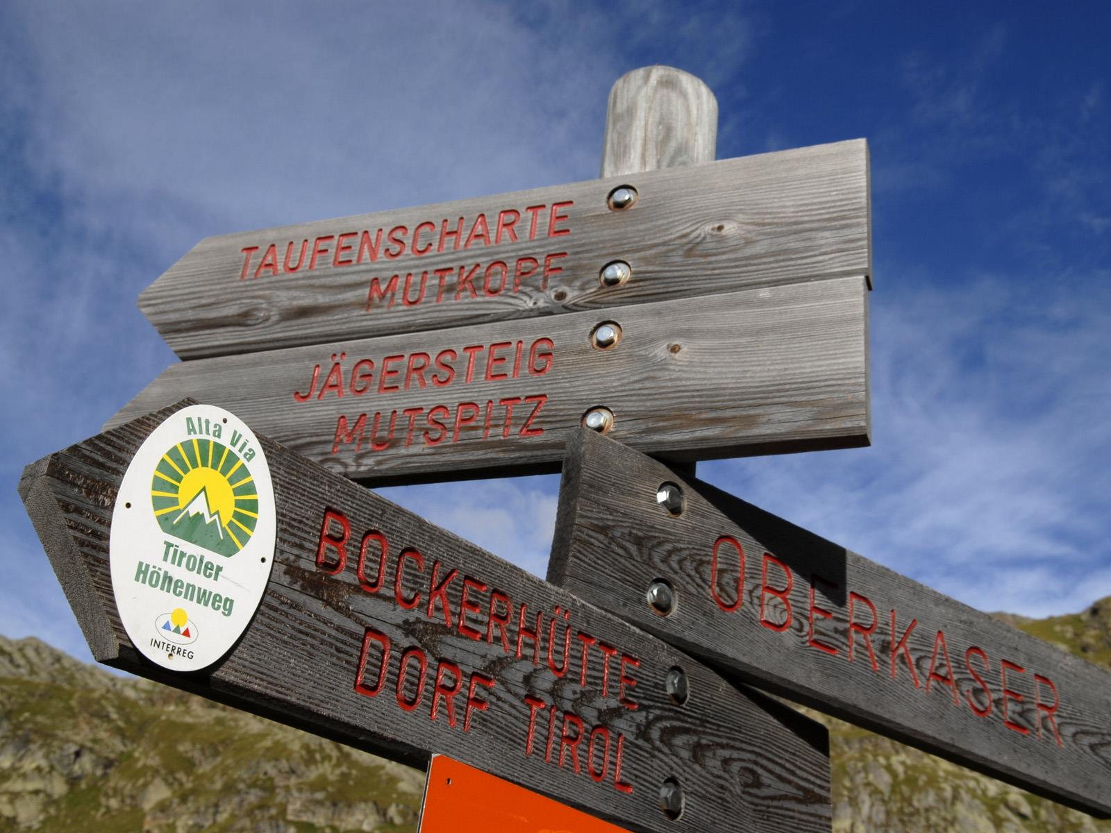 Bergtour zur Taufenscharte