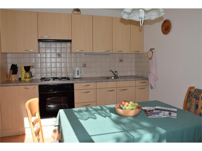 Küche Wohnung Angelika- Haus Albert Haselrieder, Völs am Schlern