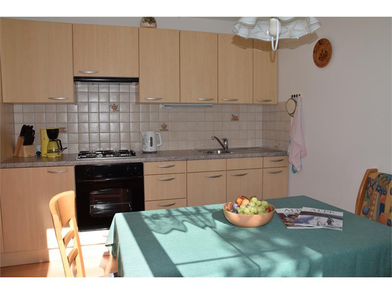 cucina appartamento Angelica- casa Albert Haselrieder, Fié allo Sciliar