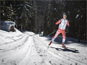 Cross country skiing in the Antholzertal / Valle Anterselva