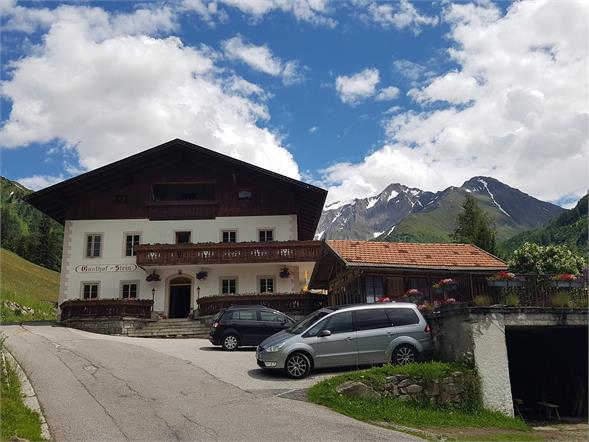 Gasthaus mit Blick auf