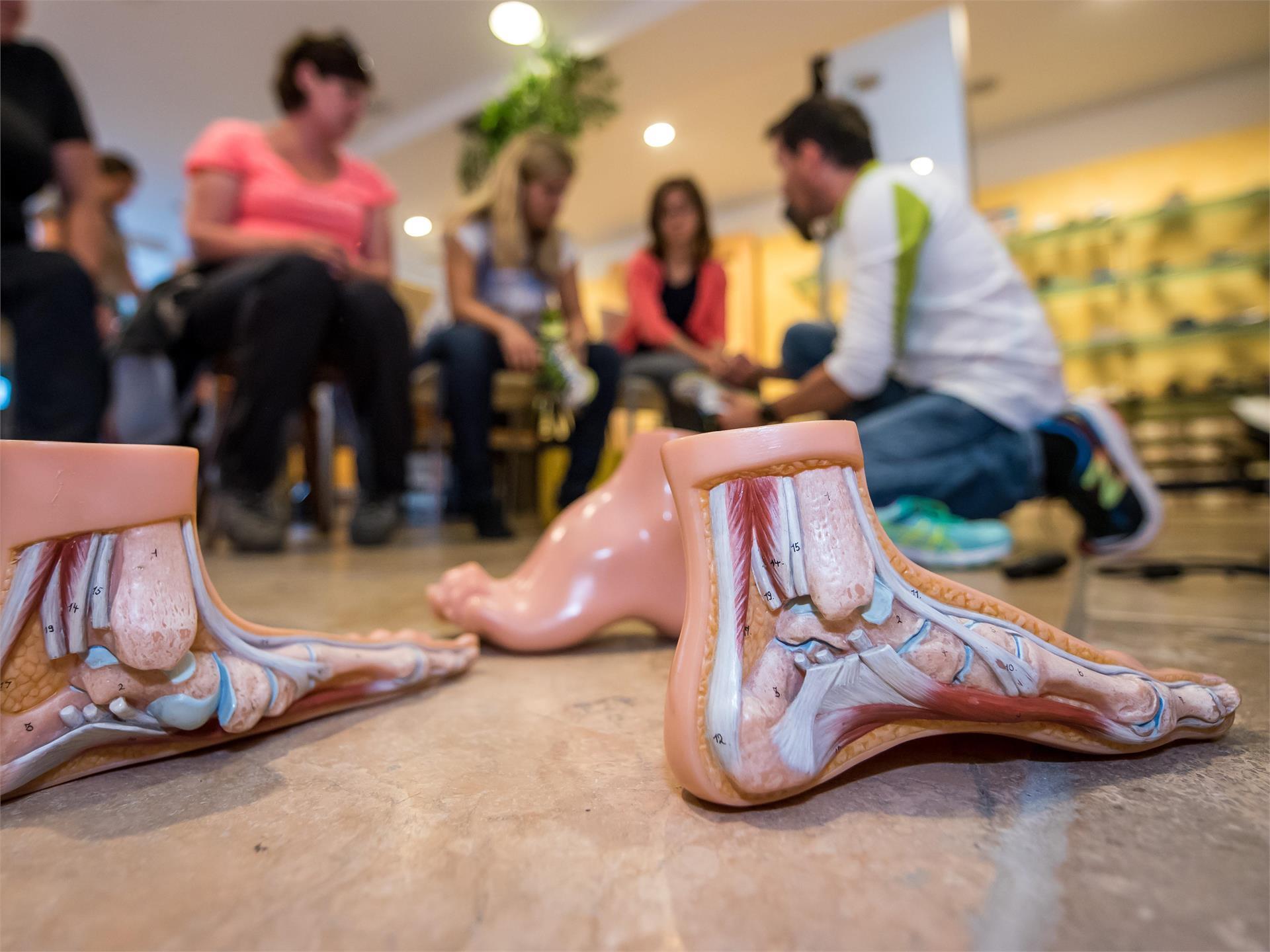 Alpe di Siusi Balance: Analisi ortopedica del piede ed equipaggiamento adeguato