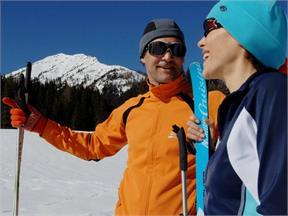 Cross-country skiing Prägraten