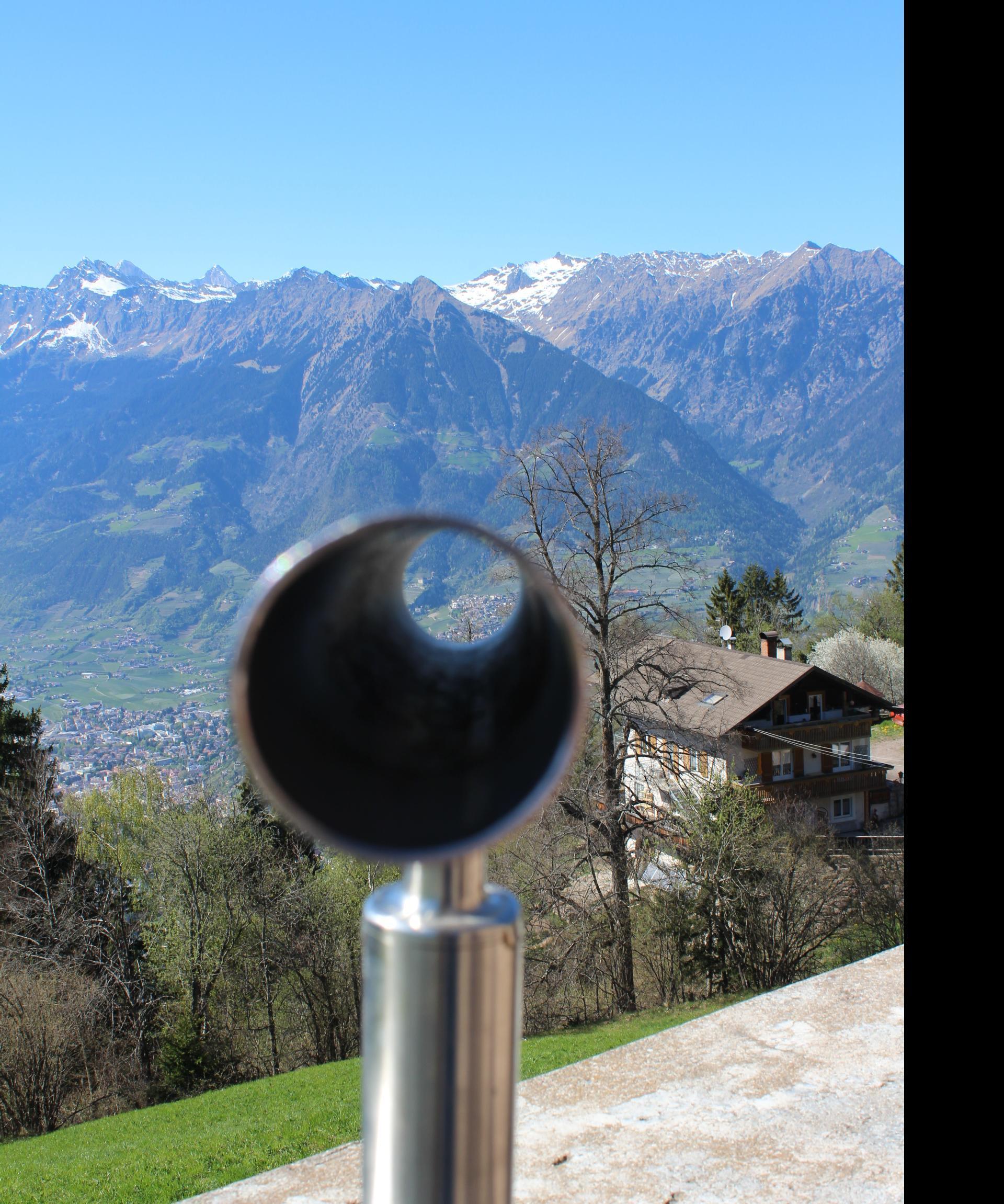 Tyrol Castle - Telescope St. Kathrein Church