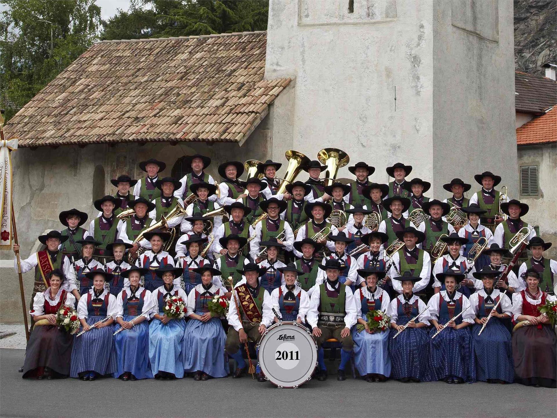 Concerto della banda musicale di Laces
