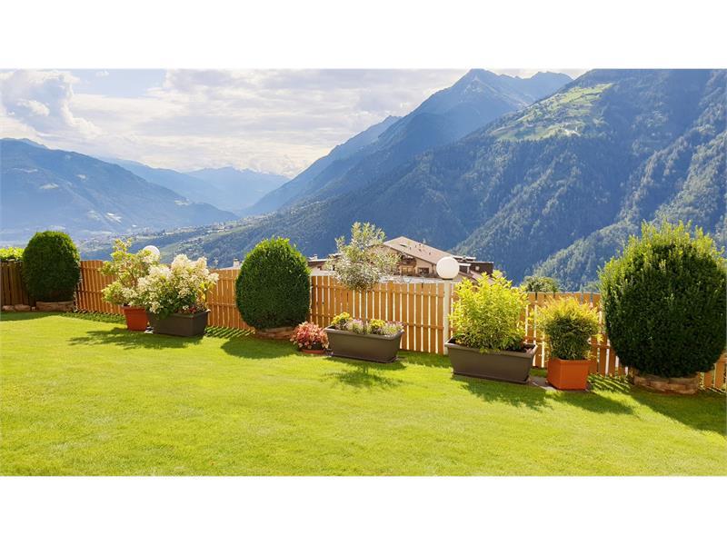 Ferienwohnung Gartenloggia Aussicht Talblick