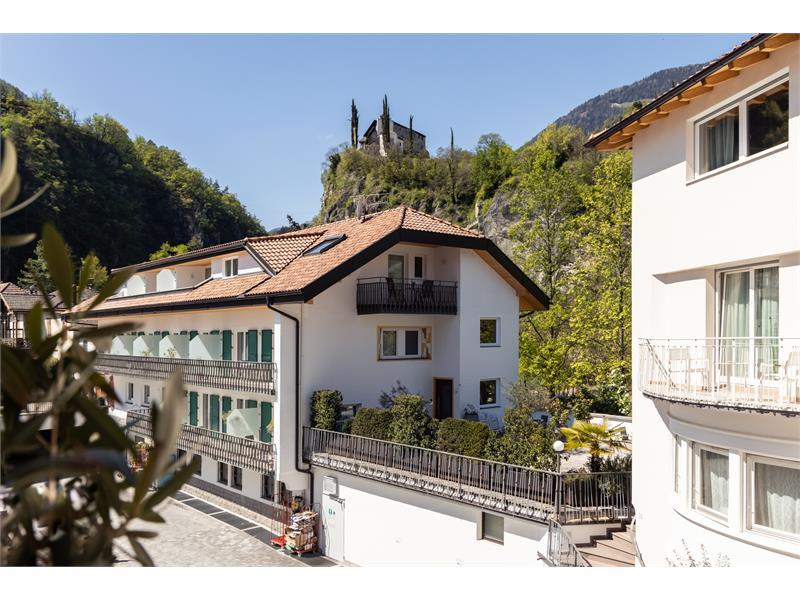 Blick auf Schloss Braunsberg