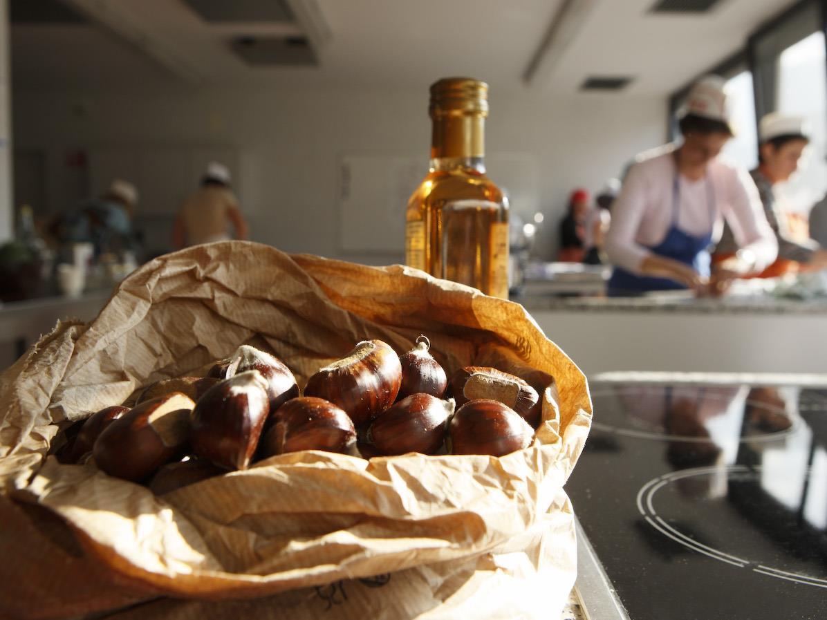 Corso di cucina: castagna - doce e picante (festa della castagna)