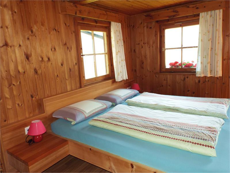 Schlafzimmer in der Ferienwohnung Südseite