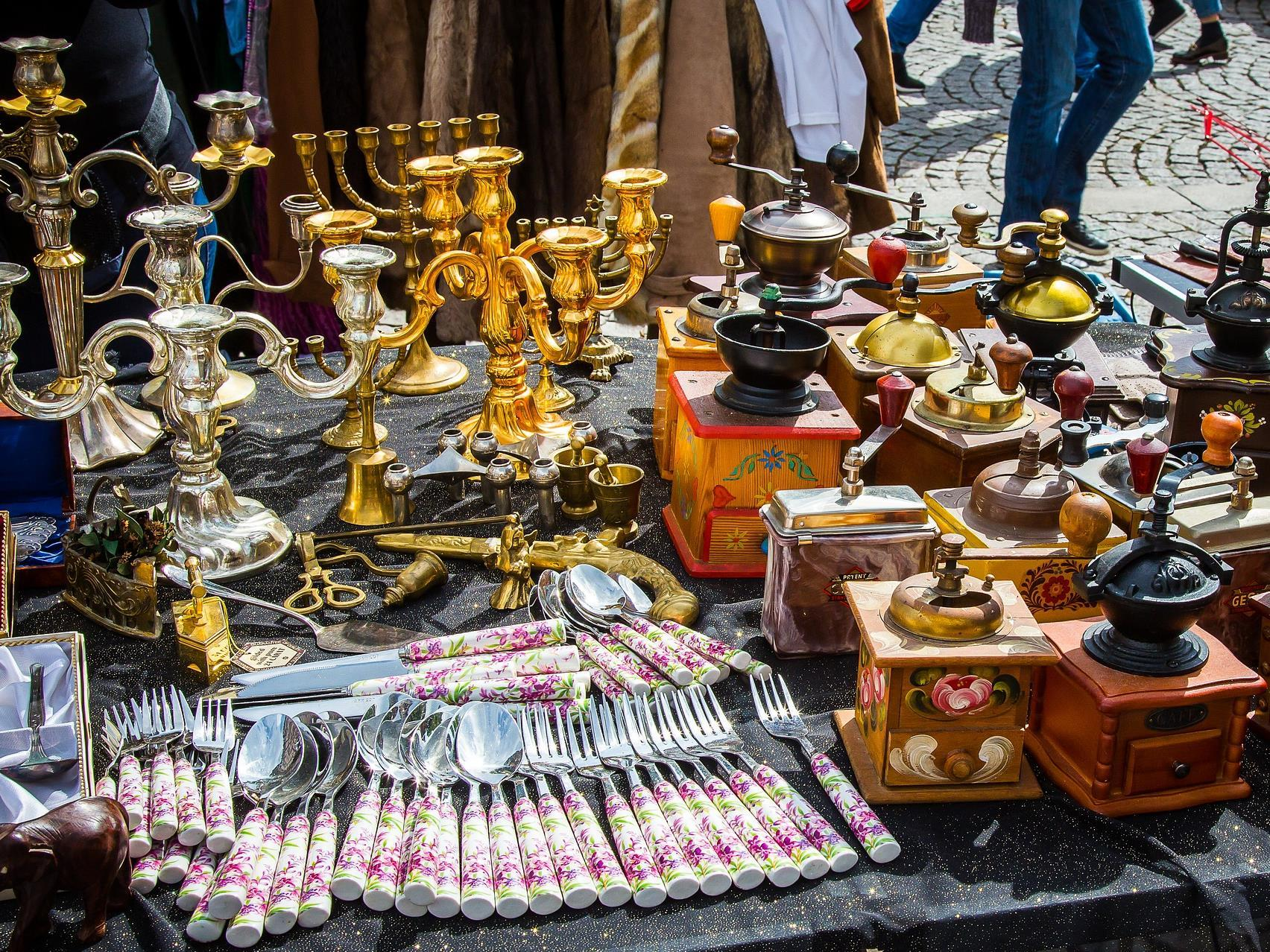Flea Market at the Town Hall Square