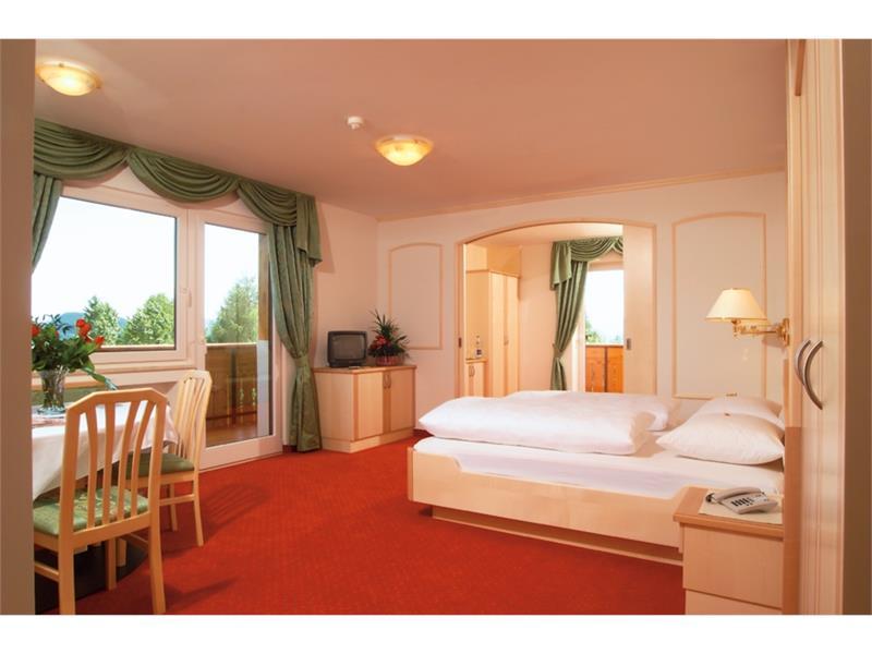 Doppelzimmer im Hotel Sonnenheim in Hafling