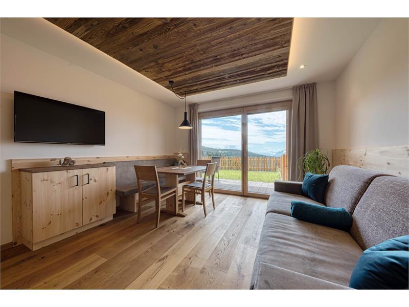 Komfortables Wohnzimmer - Ferienwohnung Thymian