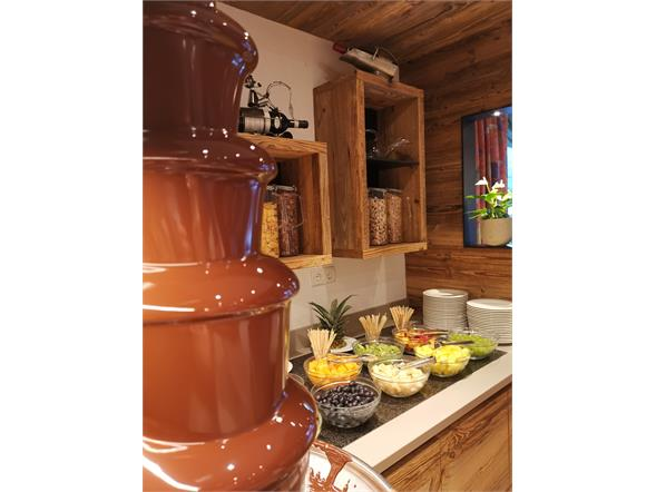 Fontana al cioccolato