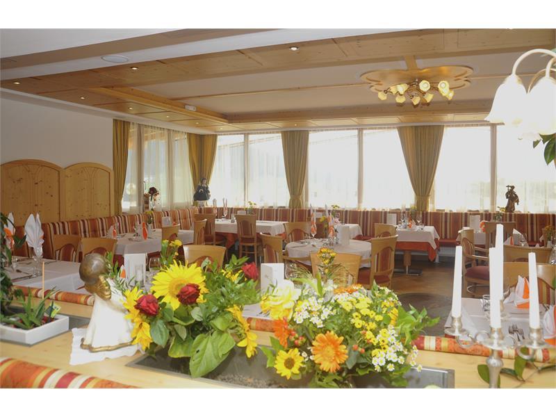 Der Speisesaal im Hotel Sonnenheim