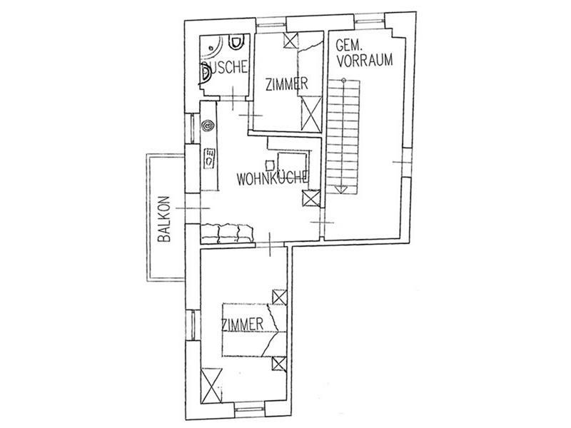 Kleines Apartement