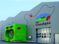 Führung durch die Obstgenossenschaft Juval