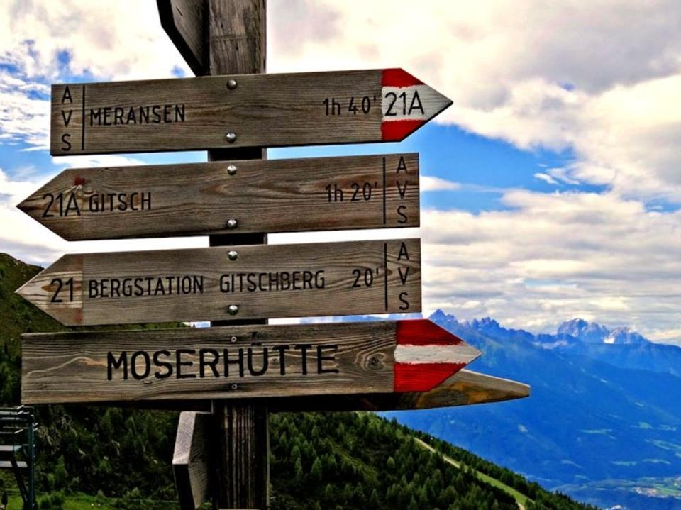 Maranza - Rifugio Moserhütte - Piccolo Gitsch - Gitschberg