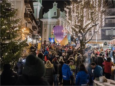Eröffnung der Dolomiti Balloonweek