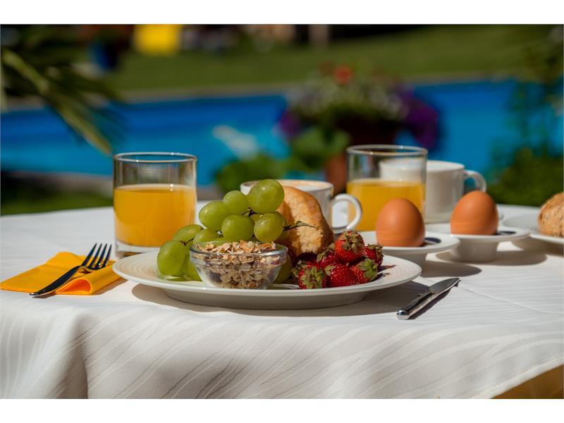 Prima colazione in terrazza