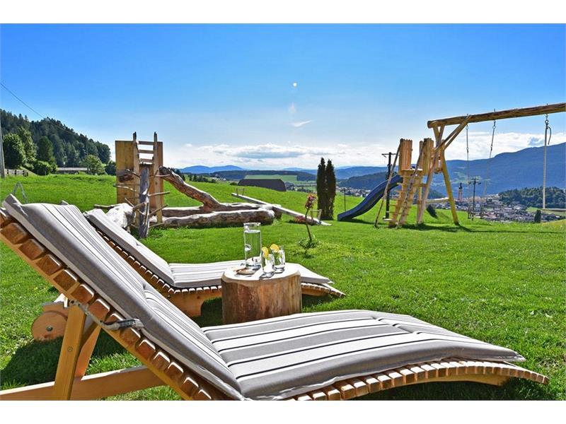 Sunbathing lawn