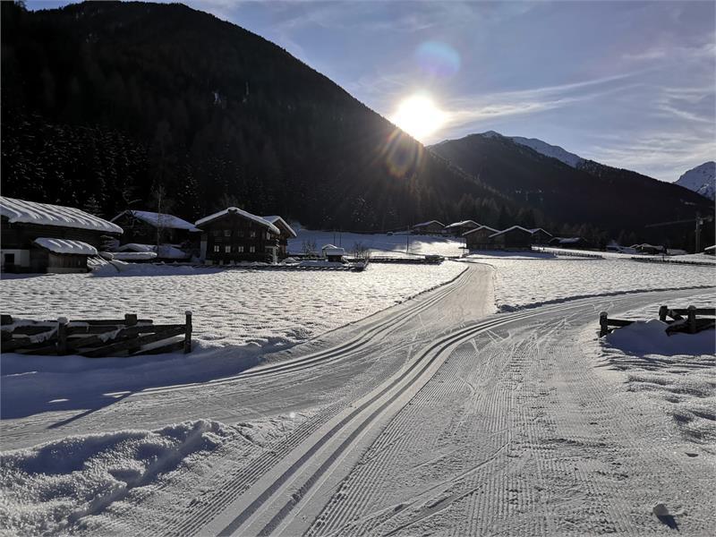 Langlaufloipe Ultental