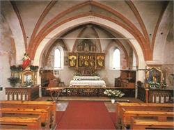 Kirche der Hl. Katharina in Corvara