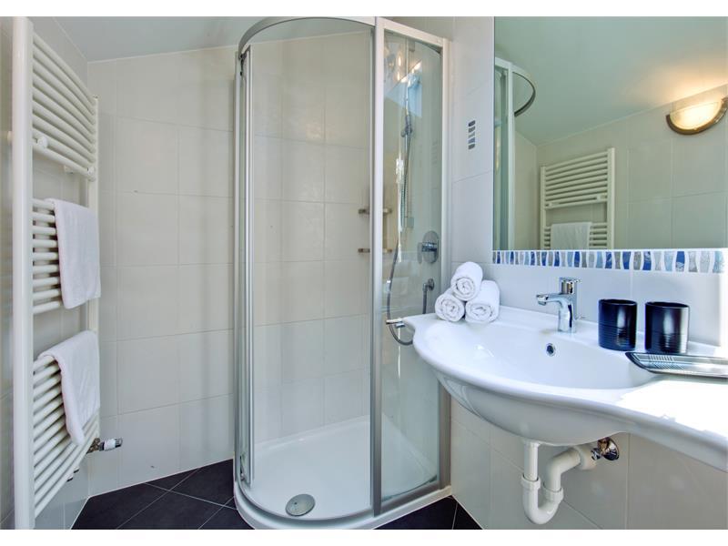 Badezimmer - Hotel Plauserhof