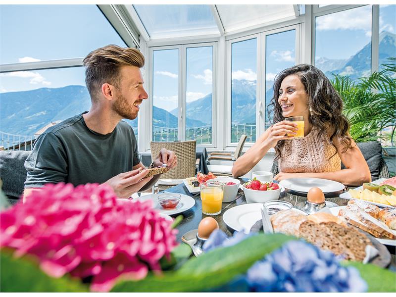 Genussfrühstück mit Panoramablick