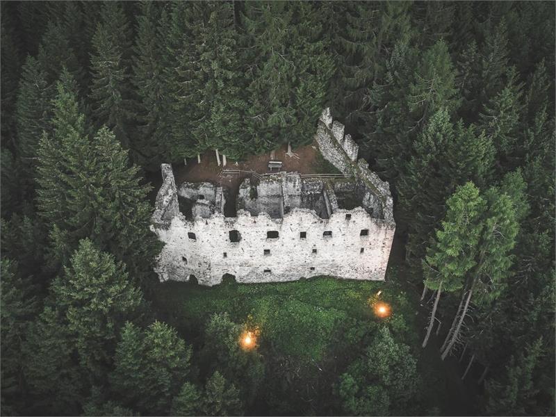 Ruine Altrasen in Niederrasen