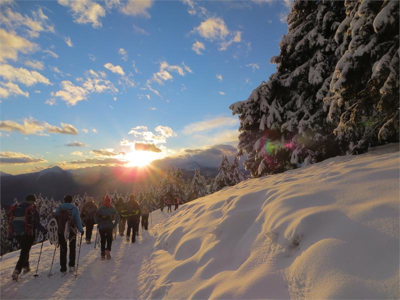 Schneeschuhwandern in Hafling