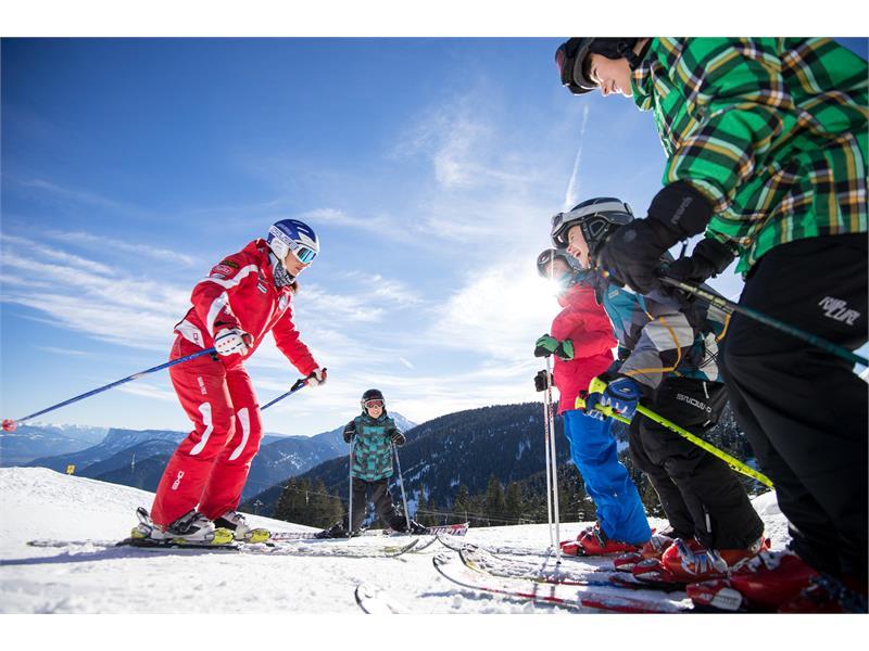 Sciare sul Monte San Vigilio